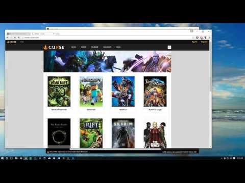 How to Install Twitch Curse Client, Install a Modpack