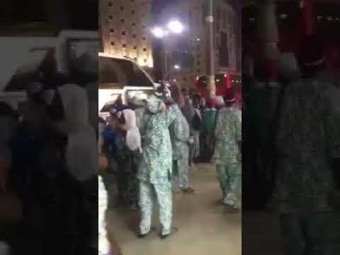 فرحة حجاج نيجيريين عقب وصولهم إلى السعودية
