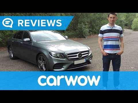 Mercedes E-Class Saloon 2017 review | Mat Watson Reviews