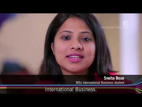 Sneha Bose: My MSc experience at Leeds [subtitled]