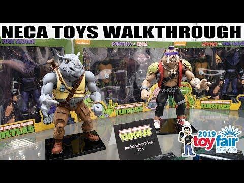 NECA Toys Product Walkthrough at New York Toy Fair 2019