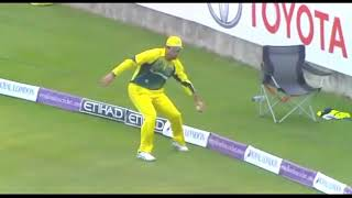 Top 10 Unexpected & Amazing catches in cricket history   Cricket's Best Acrobatic Catches