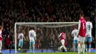 Robin van Persie's All 37 Goals in 2011/2012 season for Arsenal