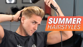 Hairstyle inspiration for Men - 5 SUMMER haircuts - Slikhaar 2020