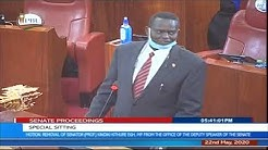 Senator poghisio - Senate sitting to oust Kindiki