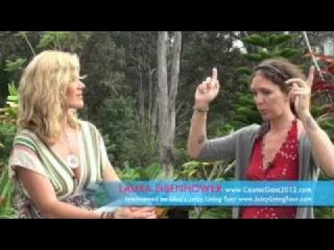 Laura Eisenhower Divine Union and Spiritual Oneness protect us from global threats
