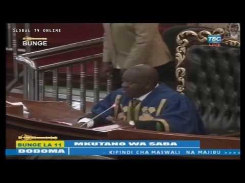 Yaliyojiri Kwenye Mkutano wa Bunge Dodoma Leo Aprili 18, 2017