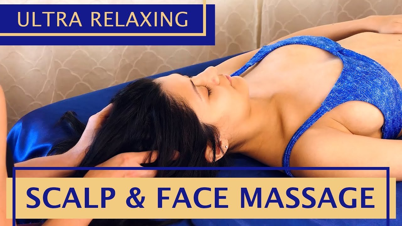 Ultra Relaxing Scalp & Face Massage | with Melissa & Courtney
