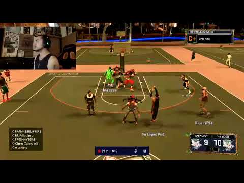 PLAYING VS THE BEST IN THE PARK 100 MOVE SNAP 2K17