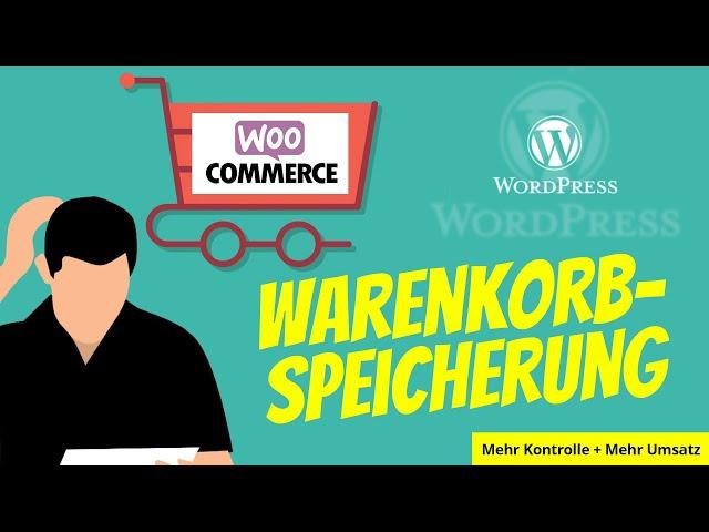 WooCommerce Warenkorb Speicherung | Cart Reports Plugin Deutsch Erklärung