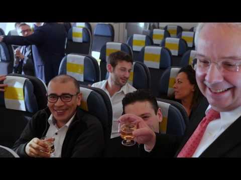 Air Caraïbes A350 : survol de l'Hexagone