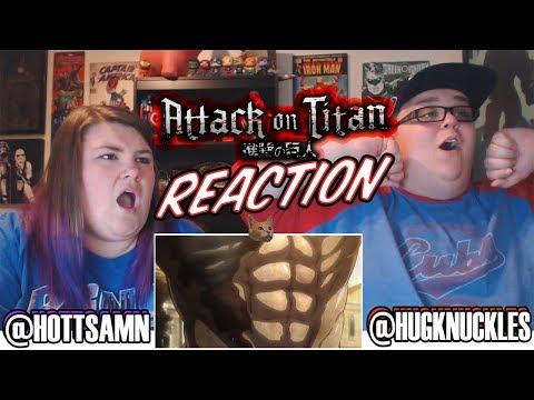 Attack On Titan Season 1 Episode 8 (1x8) REACTION!!