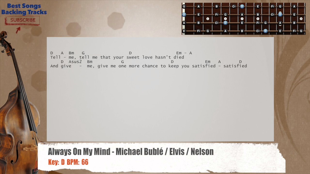 Michael Bublé – Always On My Mind Lyrics | Genius Lyrics