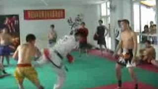 СПАРИНГ: тайский бокс против таеквондо