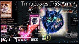 Christmas 2018 Special (YGO Pro 2) - Timaeus vs. TGS Anime! PART 1 (Vampires vs. Dark Magician) [HD]