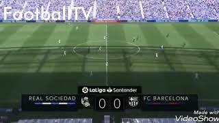 Real Sociadad vs Barcelona | 1-2 LaLiga 2018/19 | Goals and Highlights [HD]