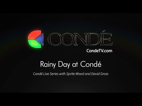 4/5/19 - Friday Live! Rainy Day at Condé with David & Sprite