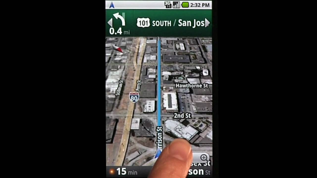 Nexus One - Google Maps