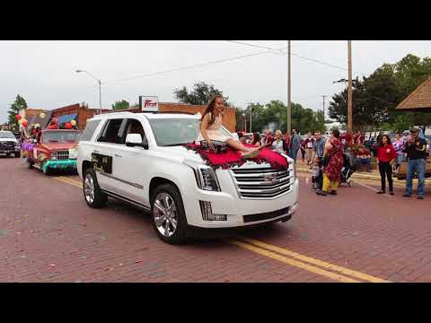 2017 Waurika Homecoming Parade