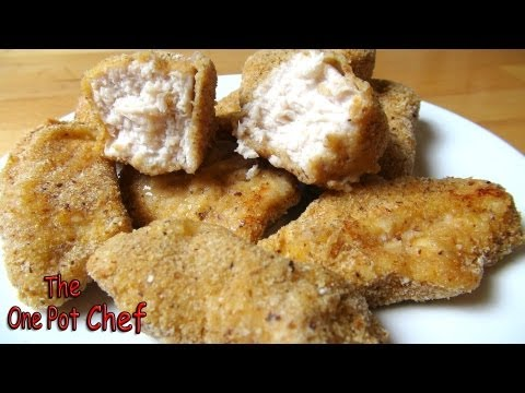 Hot and Spicy Chicken Nuggets | One Pot Chef