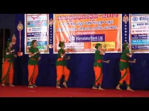 Karnataka Folk Dance performance - Kamsale
