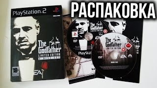 Распаковка The Godfather Limited Edition (Steelbook) 2 Disc Set (PS2) Unboxing