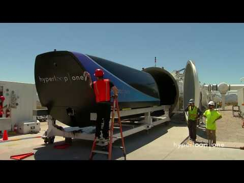 First Public Footage of Hyperloop One's Pod Test   Inverse