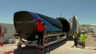 First Public Footage of Hyperloop One's Pod Test | Inverse
