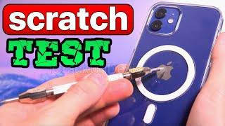 iPhone 12 Durability & Scratch Test! - is Ceramic Shield FAKE?