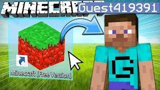 If Minecraft Had a Free Version
