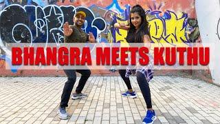 Bhangra meets Kuthu   North meets south   Punjab + Tamilnadu   Lavesh Pritmani ft. Vinatha