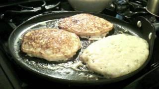 Malted Buttermilk Pancakes