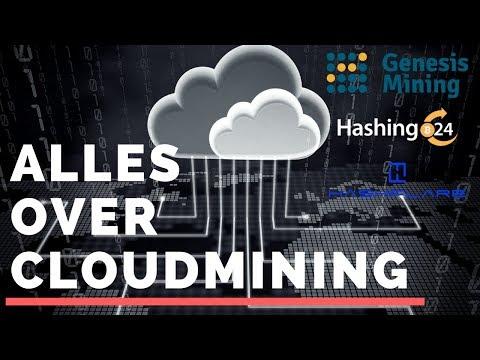 CloudMining | Alles wat je moet weten | Genesis Mining, Hashing24, Hashflare
