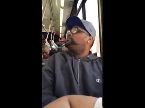 AM Tampa Bay - Hilarious Fight During Packed Bus Ride
