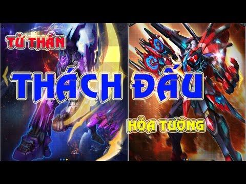 """hack điểm thách đấu chiến cơ huyền thoại - Chiến Cơ Huyền Thoại - Siêu Chiến Cơ Tử Thần """"Khiêu Chiến"""" Siêu Chiến Cơ Hỏa Tướng"""