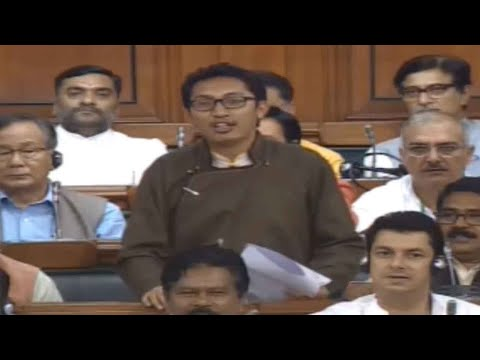 Ladakh MP Tsering Namgyal's fiery speech on J&K bifurcation and Article 370