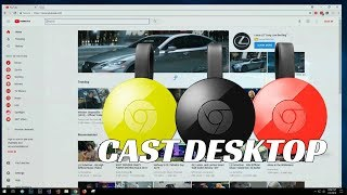Mirror Your Desktop to Any TV with Chromecast - [EASY]