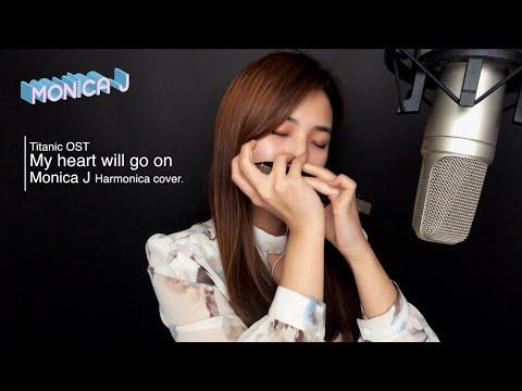 [Titanic OST] Celine Dion  My heart will go on (Harmonica ver.)