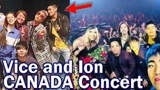 ION Perez Pinakita ang PAGMAMAHAL kay Vice Ganda! Canada Concert