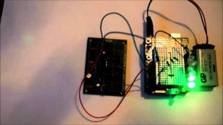 Sound sensor for micro controller