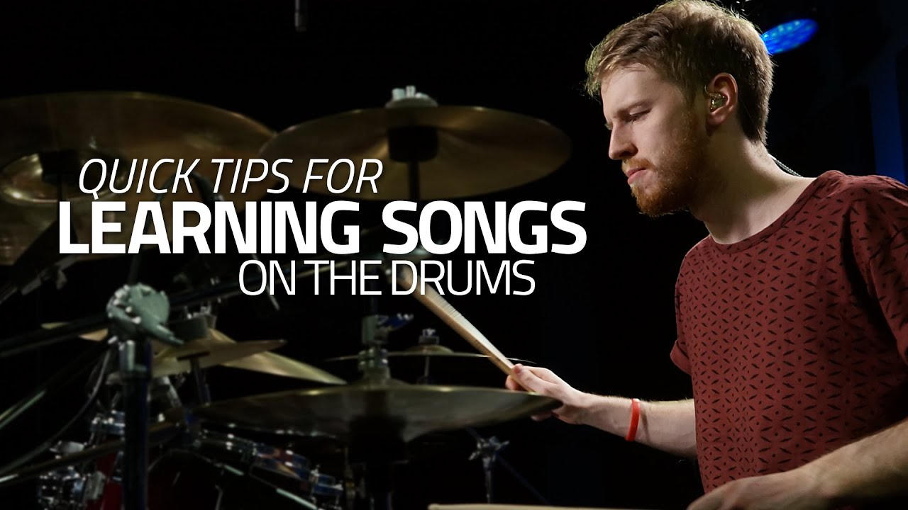Quick Tips For Learning Songs On The Drums Drum Lesson Drumeo Diagram Of A Kit This Shows Parts And Names Youtube