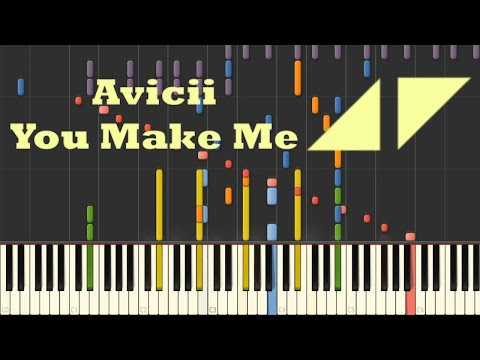 You Make Me (Avicii) - Impossible Piano Cover (Synthesia)