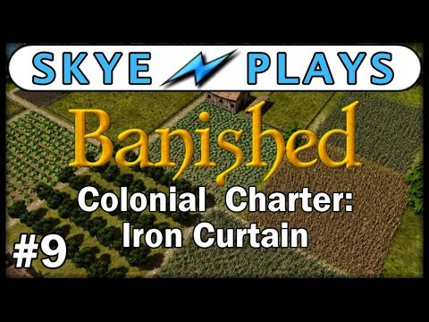 Banished Colonial Charter - Part 9 ► Town in Crisis! ◀ Gameplay / Tips