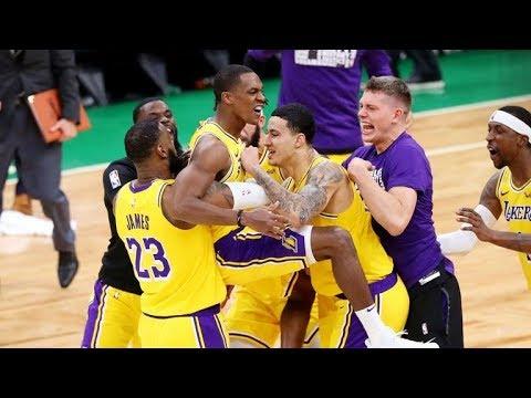 'SULLA SIRENAAA! QUESTO E' SPORT!' - Il MERAVIGLIOSO FINALE tra Lakers e Celtics (Live🎙F.Tranquillo)