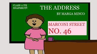 the address class 11th!! the address class 11th in Hindi !! the address by marga minco !!the address