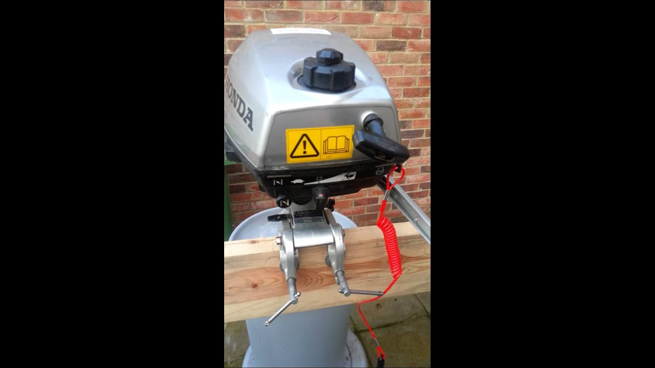Honda 4 Stroke Outboard 2hp For Sale Youtube