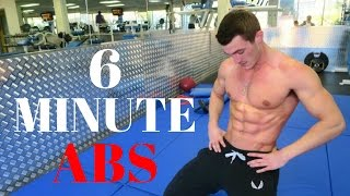 6 Minute Abs Workout! (NO EQUIPMENT NEEDED!)