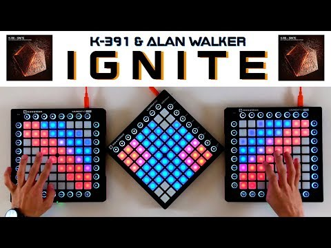 K-391 & Alan Walker - Ignite (Triple Launchpad Cover)