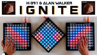 Gambar cover K-391 & Alan Walker - Ignite (Triple Launchpad Cover)