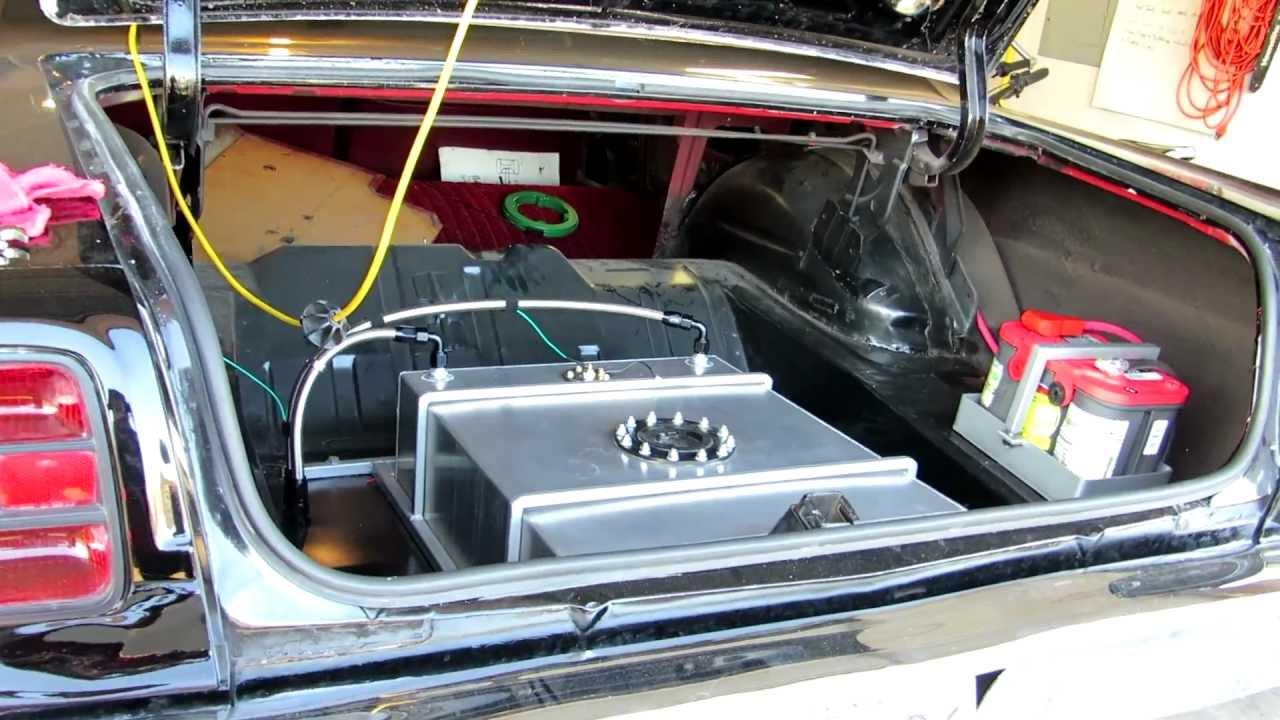 69 Torino  Battery Relocation  Fuel Pump Wiring    Testing    Firing Up
